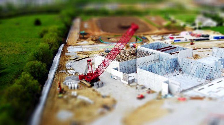 mini toy construction site